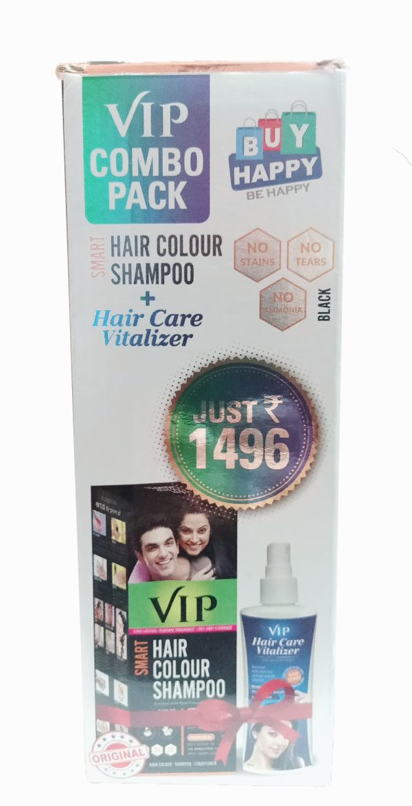 VIP Hair Colour Shampoo Combo Pack
